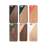 New Apple iPhone 6/6S/6 Plus/6s Plus Genuine Native Union Clic Wooden Cover