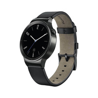 Huawei W1 Black Bluetooth Smart Watch With Leather Strap Excellent Original Box
