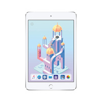 Apple iPad Mini 4 64GB A1538 Silver WiFi Only Unlocked Excellent