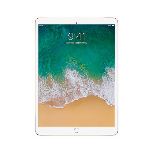 "Apple iPad Pro 12.9"" 2017 64GB Gold Wi-Fi Only Good Condition Original Box"