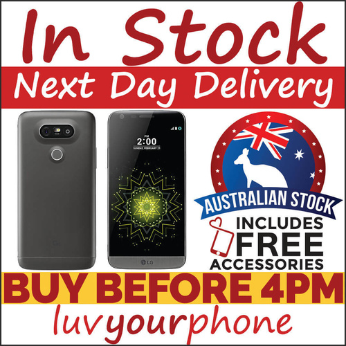 LG G5 32GB Grey Silver Gold Pink 4G LTE Unlocked Smartphone