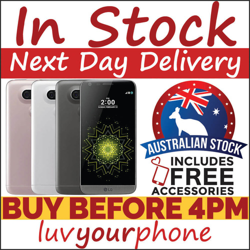 LG G5 32GB Grey Silver Gold Pink 4G Unlocked Satisfaction Guaranteed