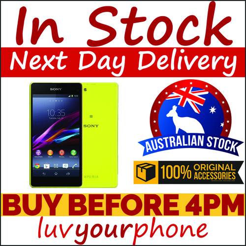 Sony Xperia Z1 Compact D5503 16GB 4G Yellow New Condition Satisfaction Guaranteed