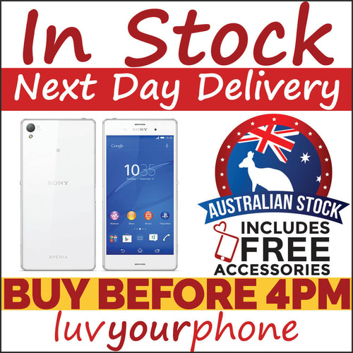 Sony Xperia Z3 Compact D5833 16GB White Satisfaction Guaranteed
