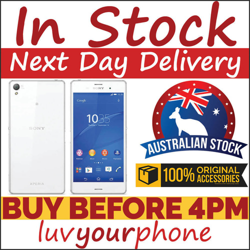 Sony Xperia Z3 D6653 16GB White 4G Unlocked Brand New AU Model