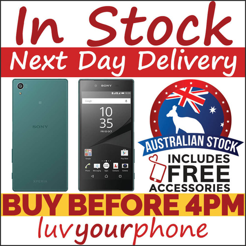 Sony Xperia Z5 E6653 4G 32GB Android Unlocked Phone in Green