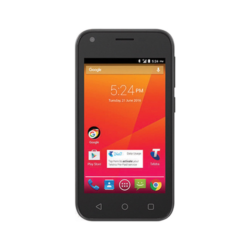 Telstra 4GX Smart ZTE A112 8GB Black 4G Smartphone Unlocked AU Stock